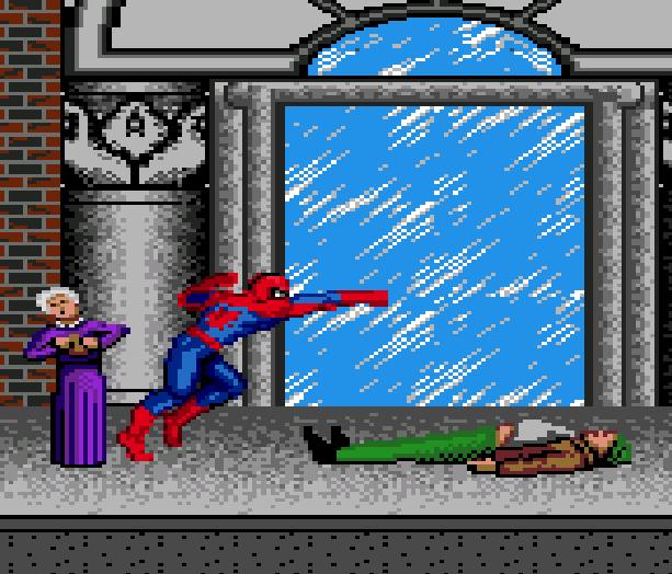 Spiderman VS the Kingpin Sega Genesis Mega Drive Xtreme Retro 1