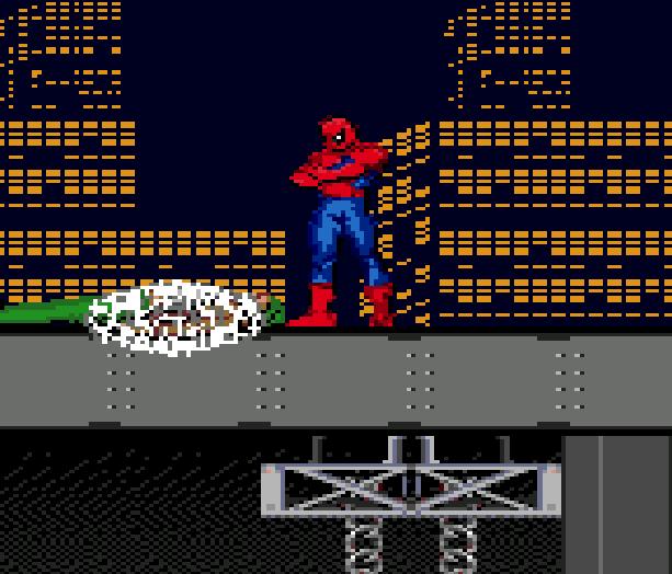 Spiderman VS the Kingpin Sega Genesis Mega Drive Xtreme Retro 3