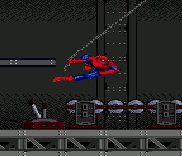 Spiderman VS the Kingpin Sega Genesis Mega Drive Xtreme Retro 4