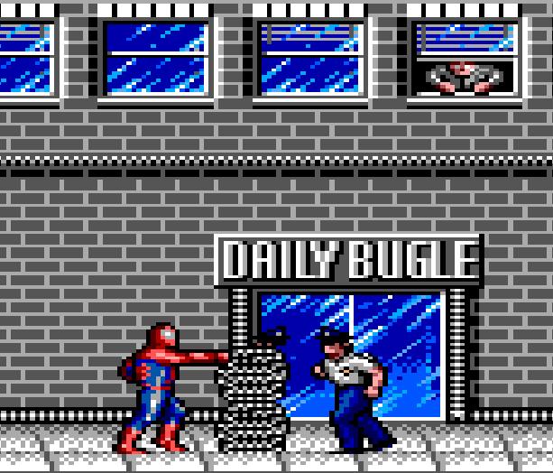 Spiderman VS the Kingpin Sega Master System Game Gear Xtreme Retro 1
