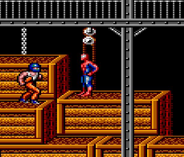 Spiderman VS the Kingpin Sega Master System Game Gear Xtreme Retro 3