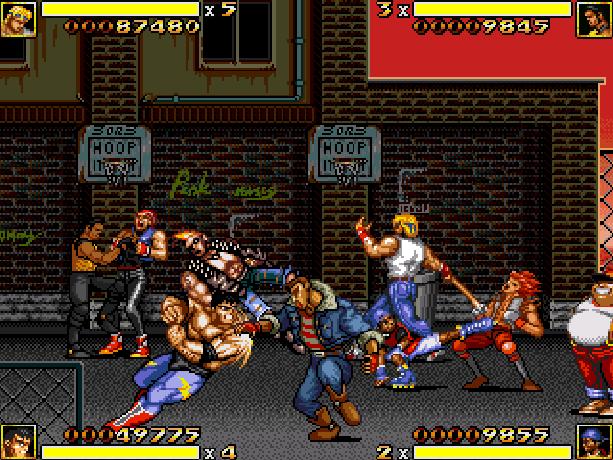 Streets of Rage 2 Bare Knuckle II Sega Genesis Mega Drive Pixel Art Xtreme Retro 2