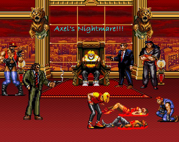 Streets of Rage 2 Bare Knuckle II Sega Genesis Mega Drive Pixel Art Xtreme Retro 3