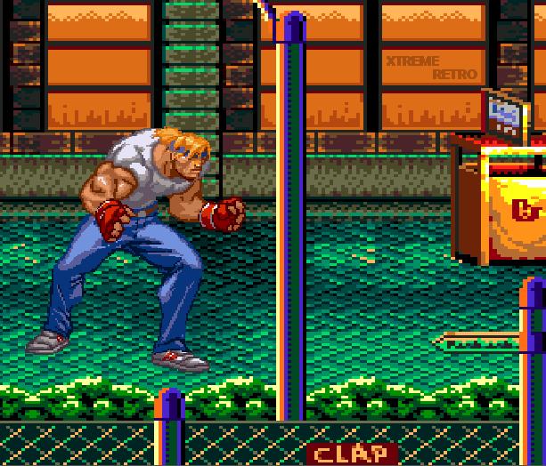 Streets of Rage Bare Knuckle 2 Sega Genesis Mega Drive Master System Game Gear Beat em up Pixel Art Xtreme Retro A
