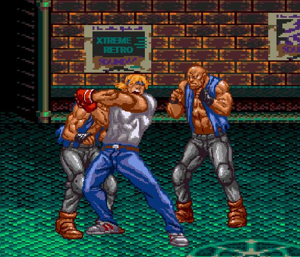 Streets of Rage Bare Knuckle 2 Sega Genesis Mega Drive Master System Game Gear Beat em up Pixel Art Xtreme Retro B
