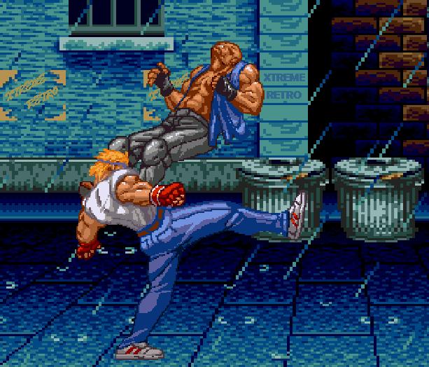Streets of Rage Bare Knuckle 2 Sega Genesis Mega Drive Master System Game Gear Beat em up Pixel Art Xtreme Retro D
