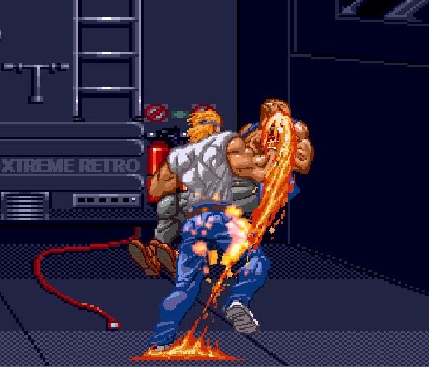 Streets of Rage Bare Knuckle 2 Sega Genesis Mega Drive Master System Game Gear Beat em up Pixel Art Xtreme Retro F