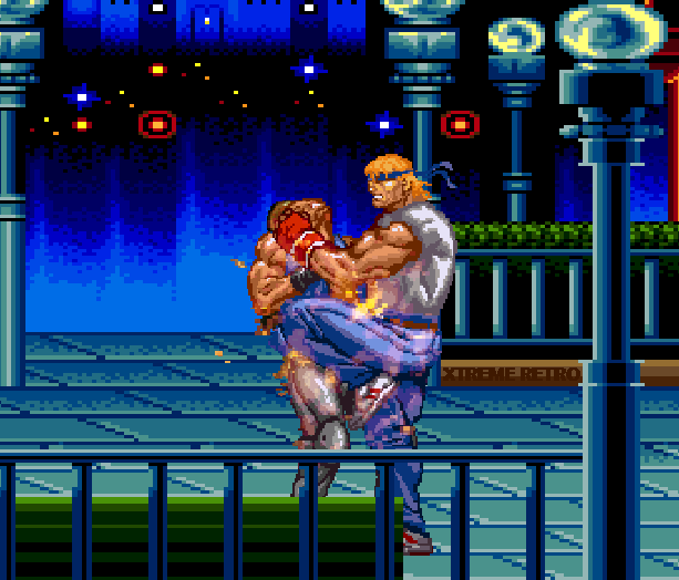 Streets of Rage Bare Knuckle 2 Sega Genesis Mega Drive Master System Game Gear Beat em up Pixel Art Xtreme Retro G