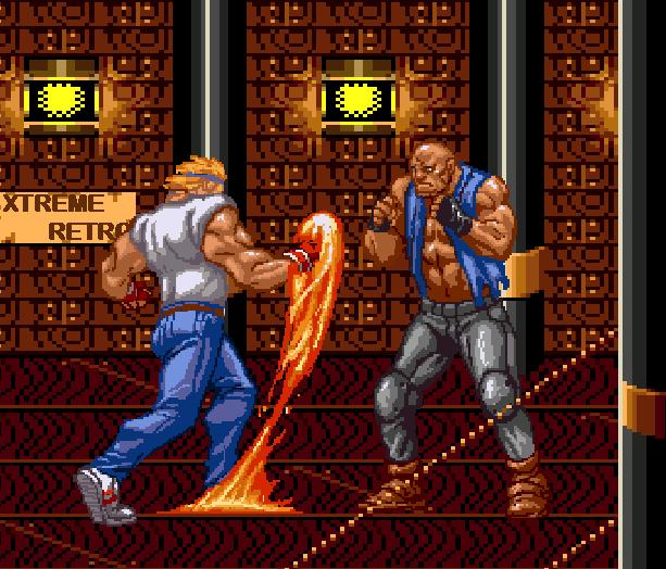 Streets of Rage Bare Knuckle 2 Sega Genesis Mega Drive Master System Game Gear Beat em up Pixel Art Xtreme Retro I