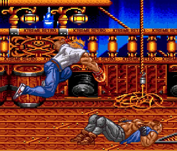 Streets of Rage Bare Knuckle 2 Sega Genesis Mega Drive Master System Game Gear Beat em up Pixel Art Xtreme Retro J