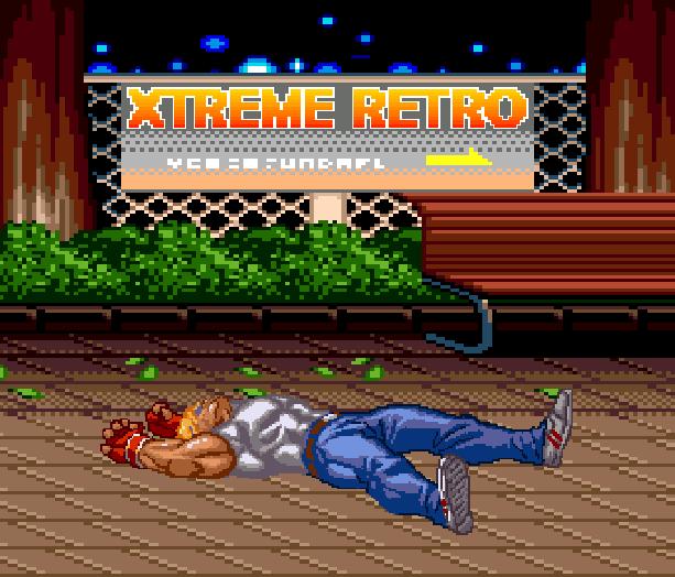 Streets of Rage Bare Knuckle 2 Sega Genesis Mega Drive Master System Game Gear Beat em up Pixel Art Xtreme Retro K