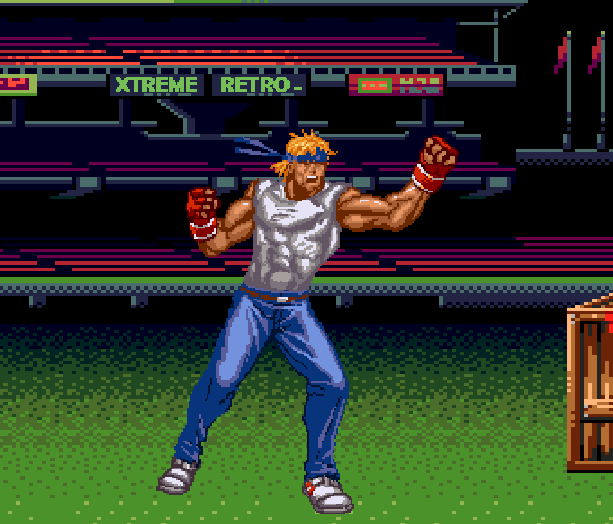 Streets of Rage Bare Knuckle 2 Sega Genesis Mega Drive Master System Game Gear Beat em up Pixel Art Xtreme Retro L