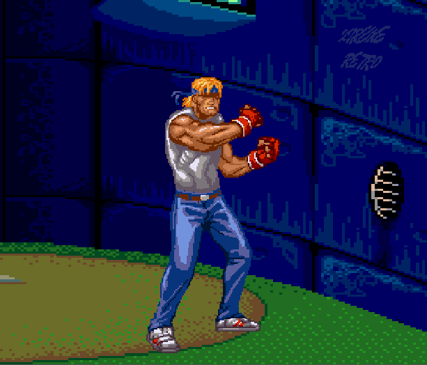 Streets of Rage Bare Knuckle 2 Sega Genesis Mega Drive Master System Game Gear Beat em up Pixel Art Xtreme Retro M