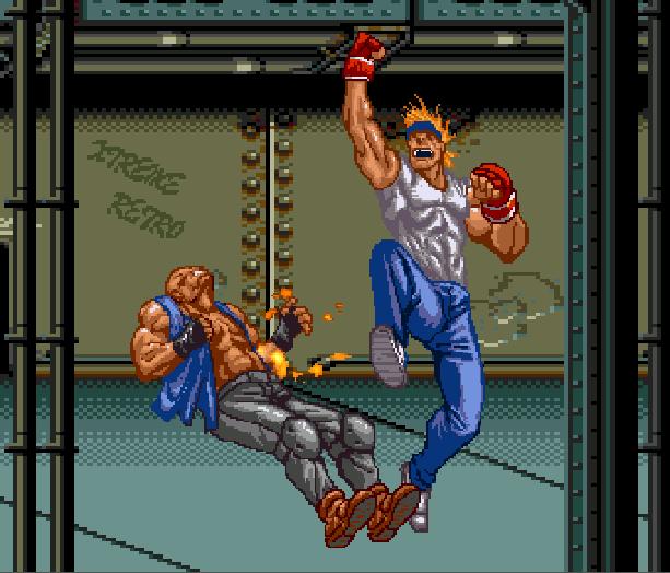 Streets of Rage Bare Knuckle 2 Sega Genesis Mega Drive Master System Game Gear Beat em up Pixel Art Xtreme Retro O