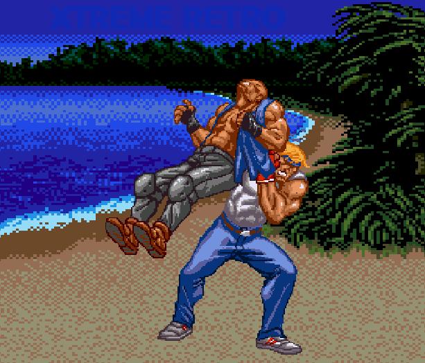 Streets of Rage Bare Knuckle 2 Sega Genesis Mega Drive Master System Game Gear Beat em up Pixel Art Xtreme Retro Q