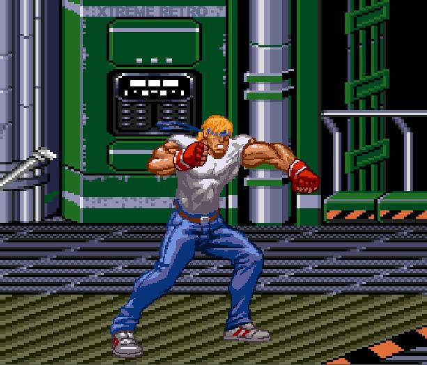 Streets of Rage Bare Knuckle 2 Sega Genesis Mega Drive Master System Game Gear Beat em up Pixel Art Xtreme Retro T