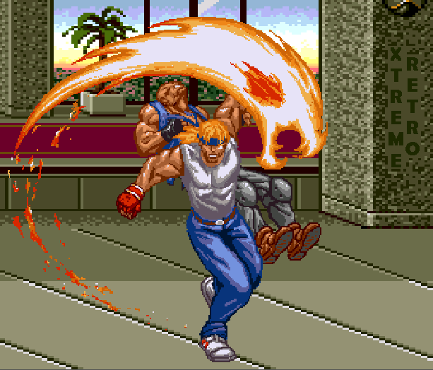 Streets of Rage Bare Knuckle 2 Sega Genesis Mega Drive Master System Game Gear Beat em up Pixel Art Xtreme Retro W