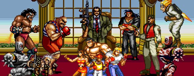 Streets of Rage Bare Knuckle II 2 Pixel Art Sega Xtreme Retro