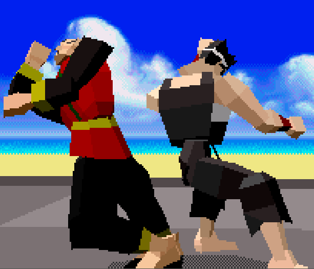 Virtua Fighter AM 2 Sega 32X Xtreme Retro 2