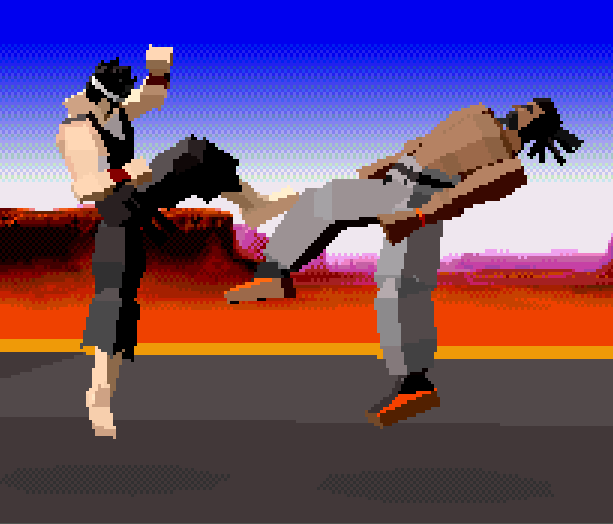 Virtua Fighter AM 2 Sega 32X Xtreme Retro 3
