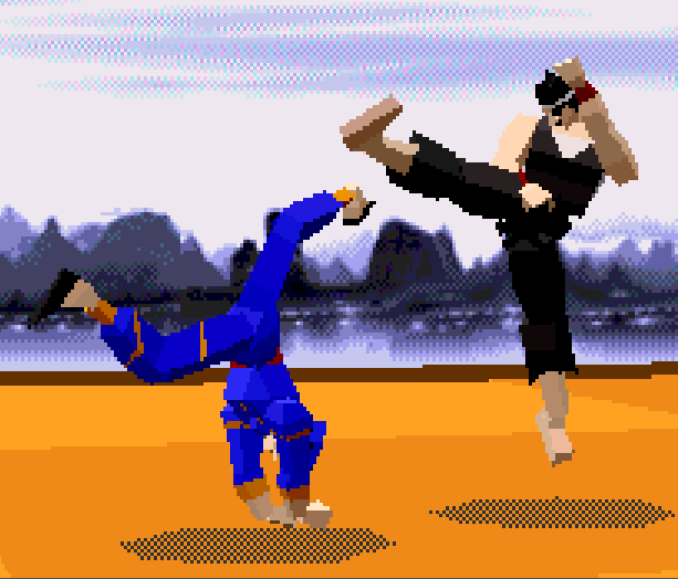 Virtua Fighter AM 2 Sega 32X Xtreme Retro 6