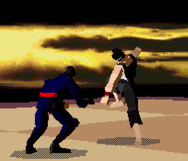 Virtua Fighter AM 2 Sega 32X Xtreme Retro 9