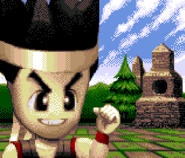 Virtua Fighter Sega 32X Pixel Art Xtreme Retro