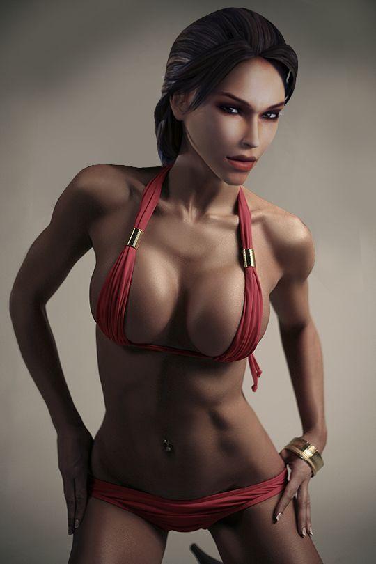lara_croft___pink_bikini_by_bitchyroy-d3uy44w