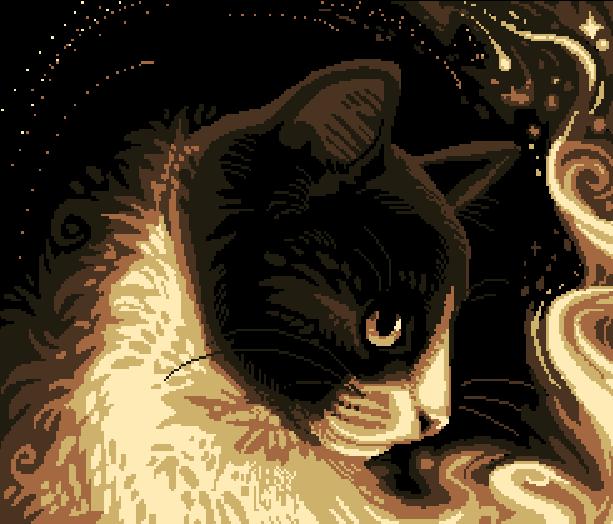 Arcade Cat Valencia Pixel Art Xtreme Retro