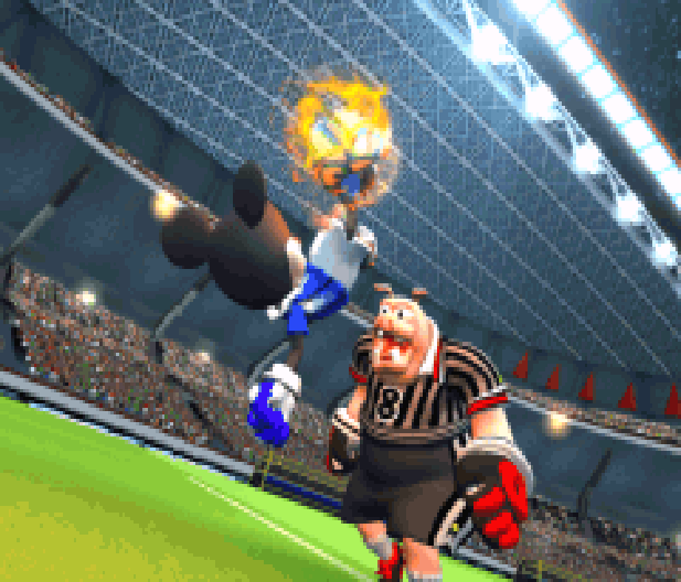 Disney Sports Football Konami Game Boy Advance GBA Xtreme Retro 1