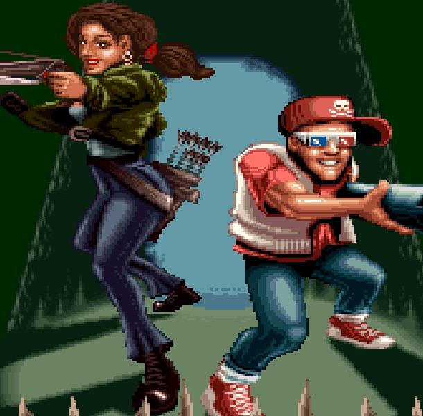 Ghoul Patrol Super Nintendo SNES LucasArts Zeke Julie Xtreme Retro 1