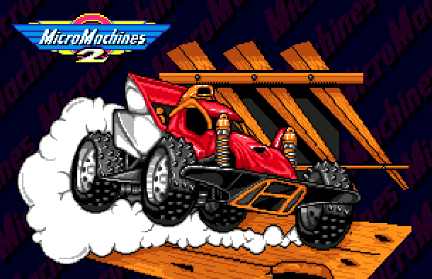 Micro Machines 2 Turbo Tournament Sega Genesis Mega Drive Xtreme Retro 1