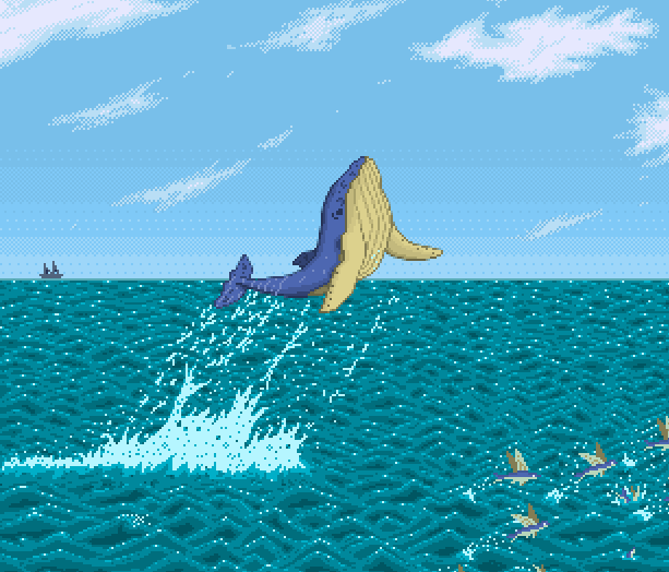 Shamus Deep Sea Adventures PS2 PlayStation 2 Pixel Art Xtreme Retro