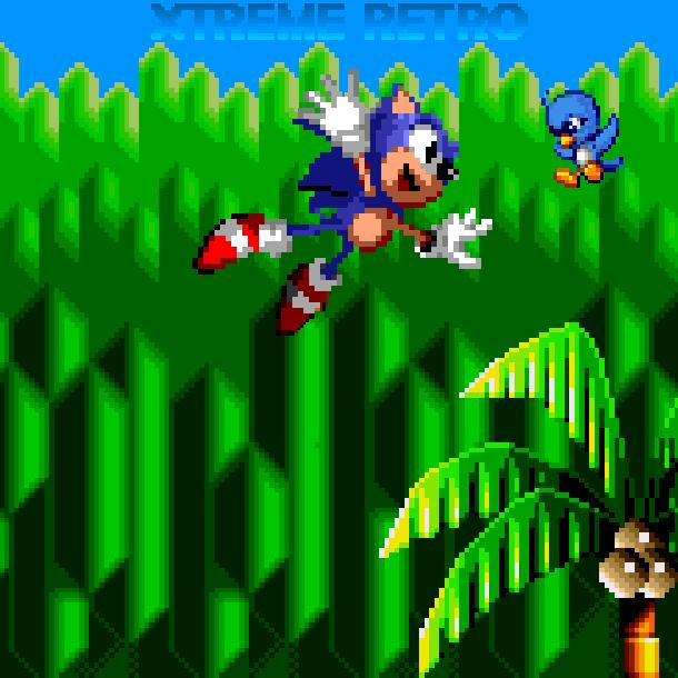 Sonic Flicky Sega Genesis Mega Drive Pixel Art Xtreme Retro 2