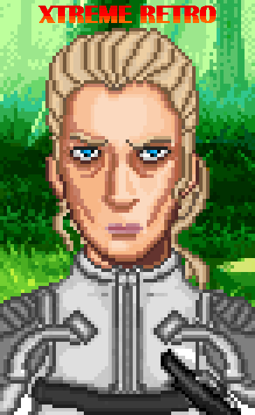 The Boss Metal Gear Solid 3 Snake Eater Konami MGS PS2 Pixel Art Xtreme Retro 2