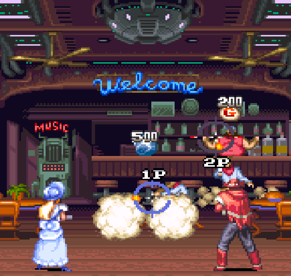 Wild Guns Super Nintendo SNES Natsume Shooter Xtreme Retro 2