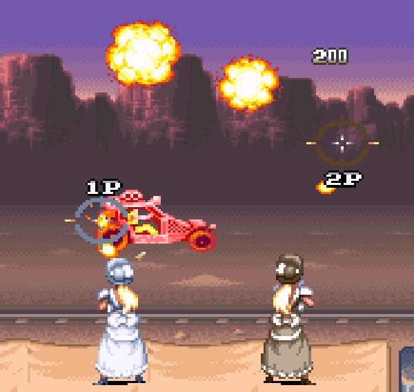 Wild Guns Super Nintendo SNES Natsume Shooter Xtreme Retro 5