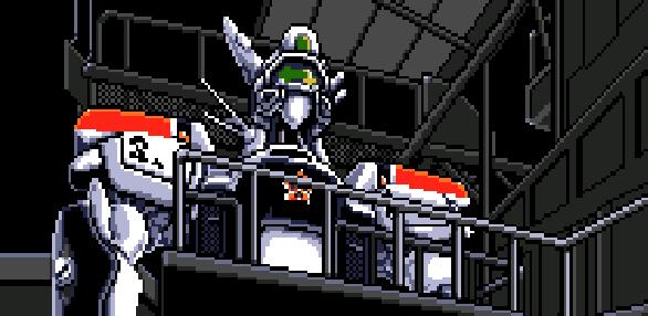Bangai-O Treasure Pixel Art Xtreme Retro