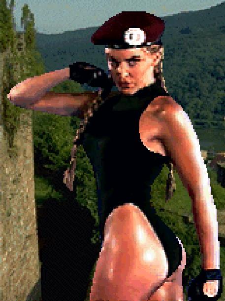 Cammy White Street Fighter The Movie Pixel Art Xtreme Retro