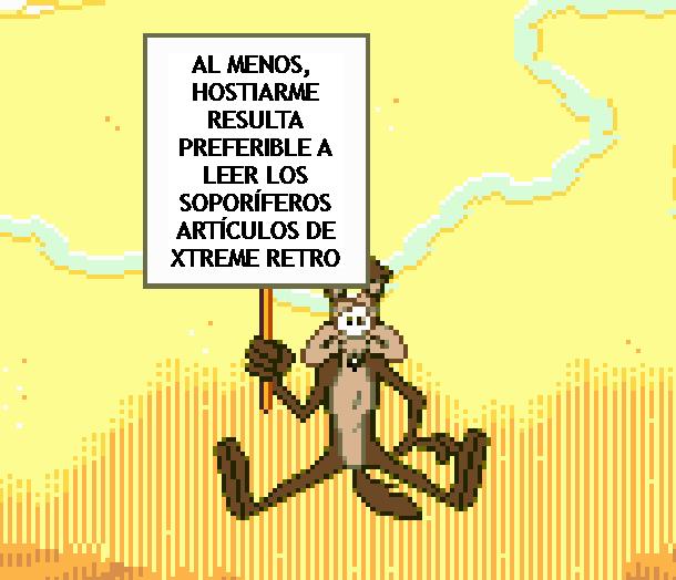 Looney Tunes Coyote Pixel Art Xtreme Retro