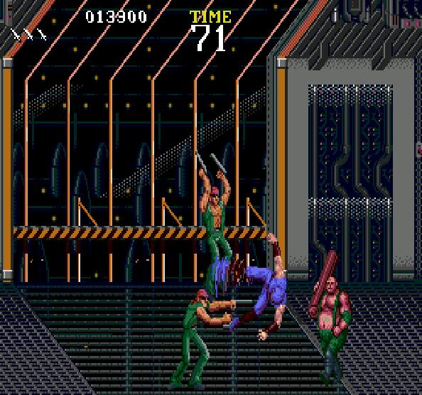 Ninja Gaiden Tecmo Sega Genesis Mega Drive Xtreme Retro 14