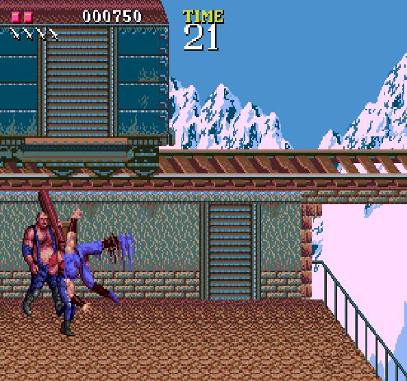 Ninja Gaiden Tecmo Sega Genesis Mega Drive Xtreme Retro 3