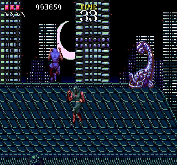 Ninja Gaiden Tecmo Sega Genesis Mega Drive Xtreme Retro 7