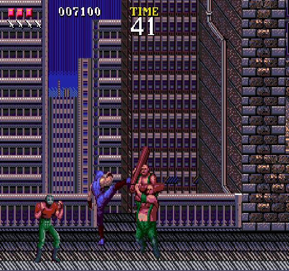 Ninja Gaiden Tecmo Sega Genesis Mega Drive Xtreme Retro 8