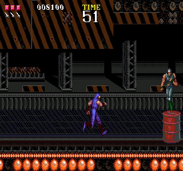Ninja Gaiden Tecmo Sega Genesis mega Drive Xtreme Retro 10
