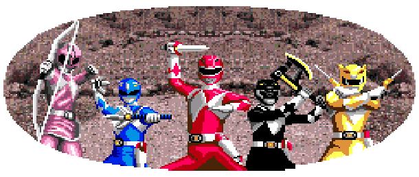Power Rangers N64 Nintendo 64 Pixel Art Xtreme Retro