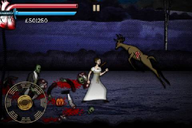 Pride and Prejudice and Zombies Videogame Xtreme Retro 2