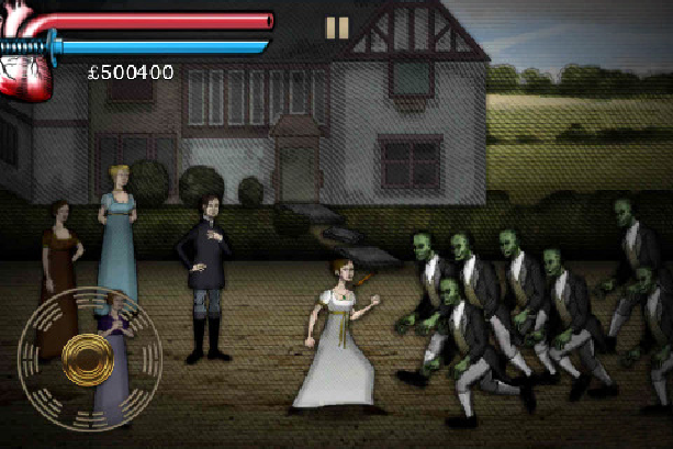 Pride and Prejudice and Zombies Videogame Xtreme Retro 3