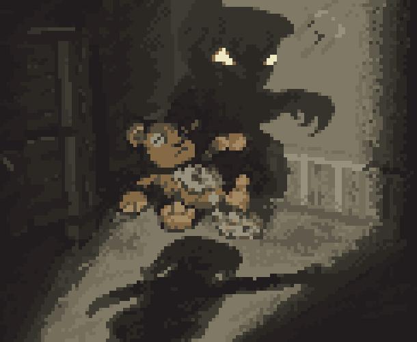 Survival Horror Pixel Art Xtreme Retro