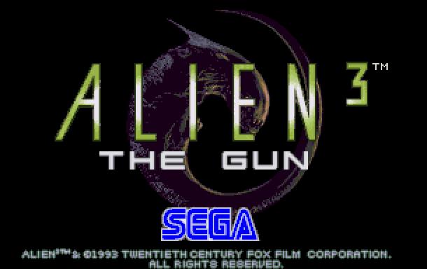 Alien 3 The Gun Sega Arcade Coin Op Xtreme Retro 1